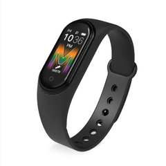 M5 Smart Watch Bodytemperature Sport Fitness Tracker Heart Rate Monitor Waterproof for all phones black