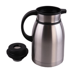 2.0L Stainless Steel coffee pot Unbreakable Interior and Ecterior Vaccum Insulated Kettle(XYD-2000E) black