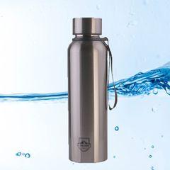Jamespot 850ML Stainless Steel Vacuum Flask Portable Water Cup Bottle(JPBWB104 JPBWB110) Silver