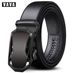 Belts Fashion Business Men's belt, Pu belt, European and American Belts Belt Belt Black sports car 120cm