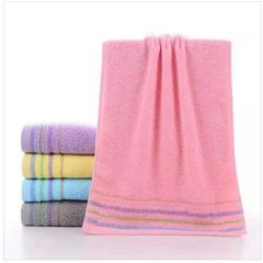 35*75 Pure Cotton Weak Twist Towel purple 35*75