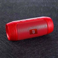 Portable Bluetooth Speaker Sound Bar Wireless Stereo System Bass Subwoofer with USB FM TF Card Red 4w mini speaker