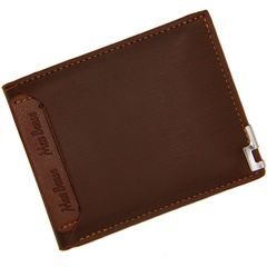 2 Set Men's Bag Wallet Purse Card Holder for Men PU Leather Short Style New Fashion Discount On Sale lightcoffee onesize