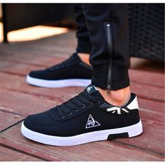 Men's Shoes Sneaker Casual Shoes for Men Sport Shoes New Fashion Discount On Sale Black-White 42
