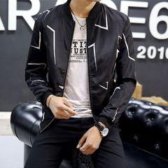 Men Jacket Thin Men Clothes Men Wear Coat Men Suit Black L
