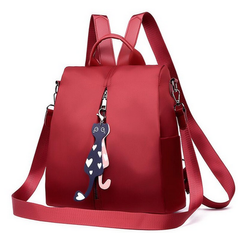 Handbags For Ladies Bags Women Bags Backpack Anti-theft Bag Discount On Sale wine red normal