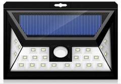 Led Solar Light 24 LEDs Motion Sensor Lights Waterproof for Wall Driveway  Patio   Yard Garden