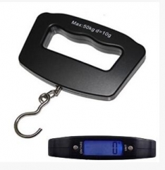 50kg /10g LCD Digital Portable hand scale Black 150*120mm