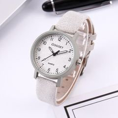 JC Women Watches Scrub Fashion Korean Simple bracelet Quartz wristwatches ladies Watches women Gift white 40.5mm