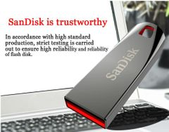 SanDisk USB flash disk hard disk drive crystal flashdisk CZ71 16G 32G 64G Memory cards phones silver sandisk 64gb