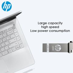 HP USB flashdisk Flash hard Drive 16GB 32GB 64G phones Waterproof hard disk flash disk Memory Stick silver hp 64GB