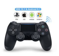 PS4 Wired Game controller for PC Controller for Sony Playstation 4 for DualShock Vibration Gamepads Black standard