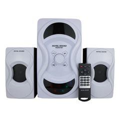 Royal Sound RS407 BT 2.1 CH  Woofer Multimedia Speaker Systerm black 50w RS407
