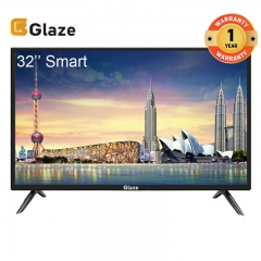 GLAZE 32 SMART Television LED TV black 32''
