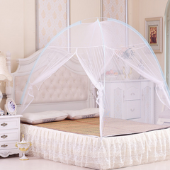Mosquito Net Tent Bedding sets & accessories No Installation Foldable Bed Net For Bedding Room White 180cm*200cm