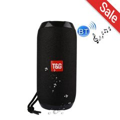 T&G Portable Wireless Bluetooth Speaker-Black support all wireless devices With Hi-Fi speaker Black 4w T&G