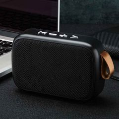 TF Card Bluetooth Speaker Surround Office FM Wireless Stereo Sound Home Mini Portable Rechargeable black one size