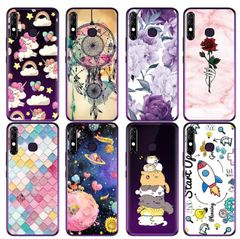 TECNO Camon 12 mobile phone case Spark Spark 4 protective cover creative painted soft shell color 5 tecno camon12/spark 4