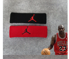 Kobe James sports headband running sweat guide antiperspirant belt sweat band fitness headband male red one size