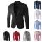 Men Slim Fit Business Casual Premium Blazer Jackets Black 2XL