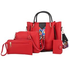 big discount only for christmas sale Bags & Fashion  3pcs Women's Bags Handbags red as the picture