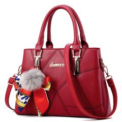 big discount only for christmas sale bag personality fashion wild women's bag handbag red as the picture