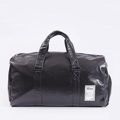 Travel Bag Sport Bag Men's Fitness Bag Large Capacity Waterproof Handbag Oversized Tote Bag black 57*27*28cm