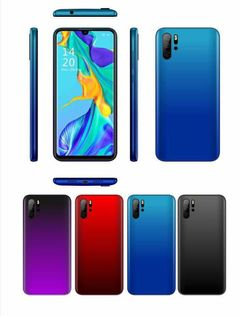 Vifone E700 1GB 8GB Smart Phone New 6.3 inch Face Unlock Dual SIM 2200mAh Aurora Blue