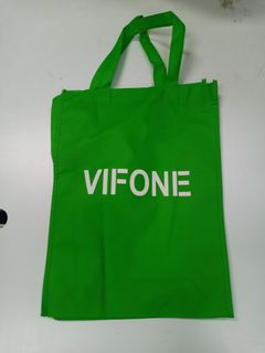 Shopping bag for gift green one size