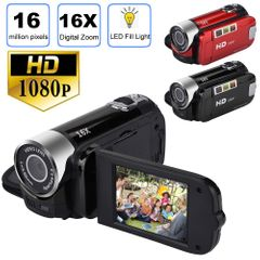 video camera 16 megapixel HD digital camera DV 1080P video recorder black routine