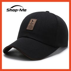 Autumn And Winter Baseball Cap Women And Men's Outdoors Sun Hat 3 Different Colors Adjustable Size Black One Size