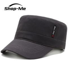 Men's Casual Hat Adjustable Size Outdoors Sun Hat Black And Gray The Best Choice For Men Gray Adjustable Size