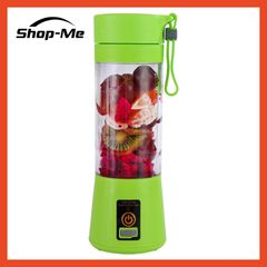 Mini Juicer 380ML USB Portable Electric Fruit Juicer 6 Blades Small Juice Cup Best Quality green