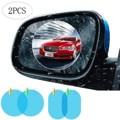 2Pcs car rearview mirror protective film anti-fog window clear rainproof rearview mirror 100*150mm 2pcs/set