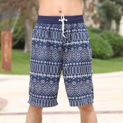 Quick dry Women Man Shorts Beachwear stripe Lady Male Beach Shorts Female Beachwear Swimwear Colorful for Man XXL