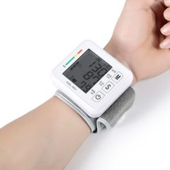 Heart rate meter Sphygmomanometer PR Blood pressure meter wrist sphygmomanometer pulse meter With voice