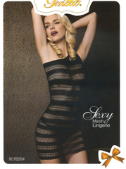 New Black Net Body Stocking Mesh Sexy Lingerie Nightwear SFB2004