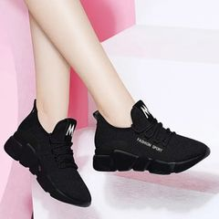 Shoes Ladies Shoes For Women Sneakers Ladies Breathable And Antiskid Shoe For Women Sports Shoes black 40