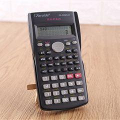 Calculator Student Multi Function Scientific Calculator For Calculated Data 12 Digit Calculator Black