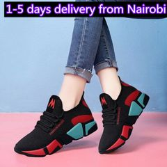Women Shoes Ladies Shoes Women's Breathable Running Shoes School Shoes For Women red 40