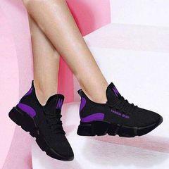 Women Shoes Ladies Shoes Women School Shoes Ladies Rubber Shoes For Women Shoe Lady Sports Shoes voilet 40