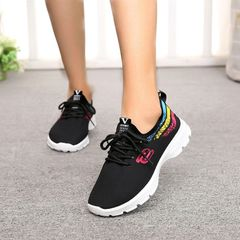Sneakers Ladies Shoes Sports Shoes Rubber Shoes For Women Official Shoes Shoe Lady Sneaker black 39