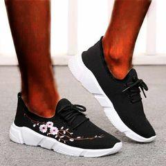 Sports Shoes Women Shoes Ladies Shoes Sneakers Women School Shoes Rubber Shoes For Women black 40
