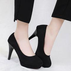 Heels Shoes Women's Shoes Ladies Heels Women Shoes High Heels For Women Sandals Ladies Black 40