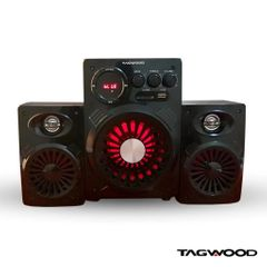 TAGWOOD LS-421A  2.1 SUBWOOFER WITH BLUETOOTH,FM,SB/USB 6000W PMPO black 6000W PMPO. LS-421A