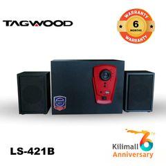 (Anniversary Special Offer)TAGWOOD LS-421B Woofer Multimedia Speaker System 2.1CH Bluetooth,FM Radio black 5800W PMPO. LS-421B