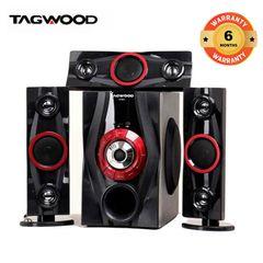 TAGWOOD LS-631A  Woofer  3.1 Speaker SUBWOOFER WITH BLUETOOTH,FM,SB/USB black 9800W PMPO. LS-631A