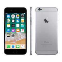Refurbished  iPhone6 1GB RAM 4.7-inch 16G ROM 8.0 MP Charger Line Smart Apple iOS with fingerprint grey