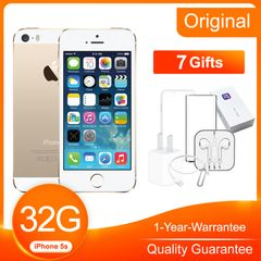 Refurbished iPhone5s 1GB RAM 4.0inch 32GB ROM 8.0 MP Smart Apple iOS mobile gold