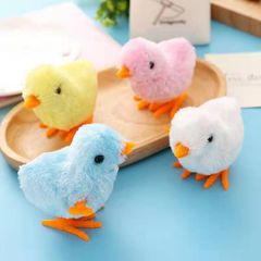 1-piece Boy and girl toy jumping chicks Novelty & Gag Toys Random color